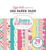Happy Birthday Girl 6 x 6 Paper Pad - Echo Park