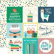 Journaling Card 4 x 4 Paper - Happy Birthday Boy - Echo Park