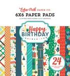 Happy Birthday Boy 6 x 6 Paper Pad - Echo Park