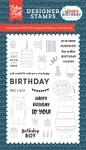 Happy Birthday To You Stamp - Echo Park