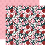 Sweetheart Floral Paper - Hello Sweetheart - Carta Bella