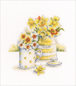 "6""X6.5"" 16 Count - Spring Light Counted Cross Stitch Kit"