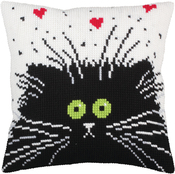 That's Love - Collection D'art Stamped Needlepoint Cushion Kit 40x40cm