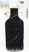 """Bottle - Silhouette Chalkboard 11.81""""X19.69"""""""