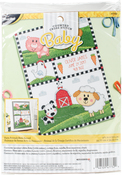 Farm Animals Birth Record Counted Cross Stitch Kit