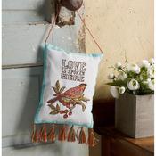 "Waverly-Charleston Chirp - Stamped Embroidery Door Hanger Kit 5""X7"""