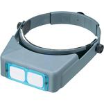 "Lensplate #5 Magnifies 2.5x At 8"" - Donegan Optical OptiVISOR Binocular Magnifier"