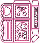 Box Card - Pink And Main Dies