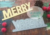 Stitched Merry - La-La Land Die