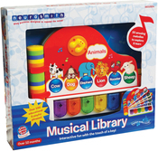 Musical Library - Small World Toys Musical Library