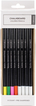 Assorted Colors, 6/Pkg - Chalkboard Colored Pencil