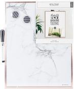 "Rose Gold 11""X14"" - Marble Frame Dry Erase Board"