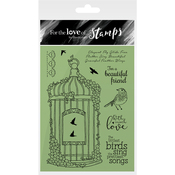 Blossoming Birdcage - Hunkydory For The Love Of Stamps A6