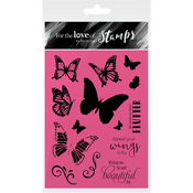 Spread Your Wings - Hunkydory For The Love Of Stamps A6