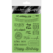 Birthday Wishes - Hunkydory For The Love Of Stamps A6