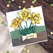 Daffodils In The Sun - Hunkydory For The Love Of Stamps A6