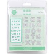 Alphabet - First Edition Dies