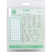 Alphabet Bunting - First Edition Dies