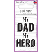 Dad - Dovecraft Sentiment Clear Stamp
