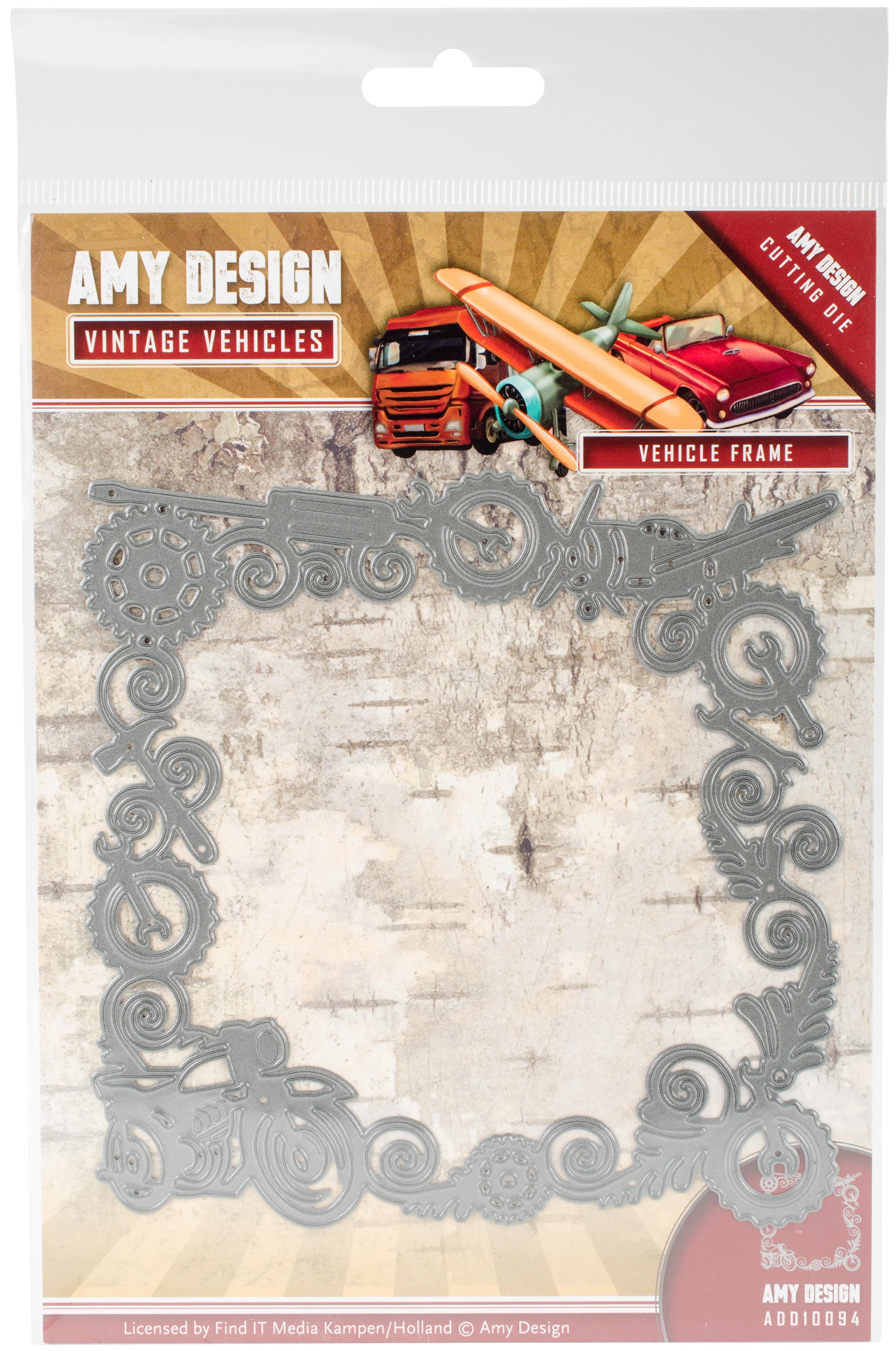 Vehicle Frame - Find It Trading Amy Design Vintage Vehicles Die