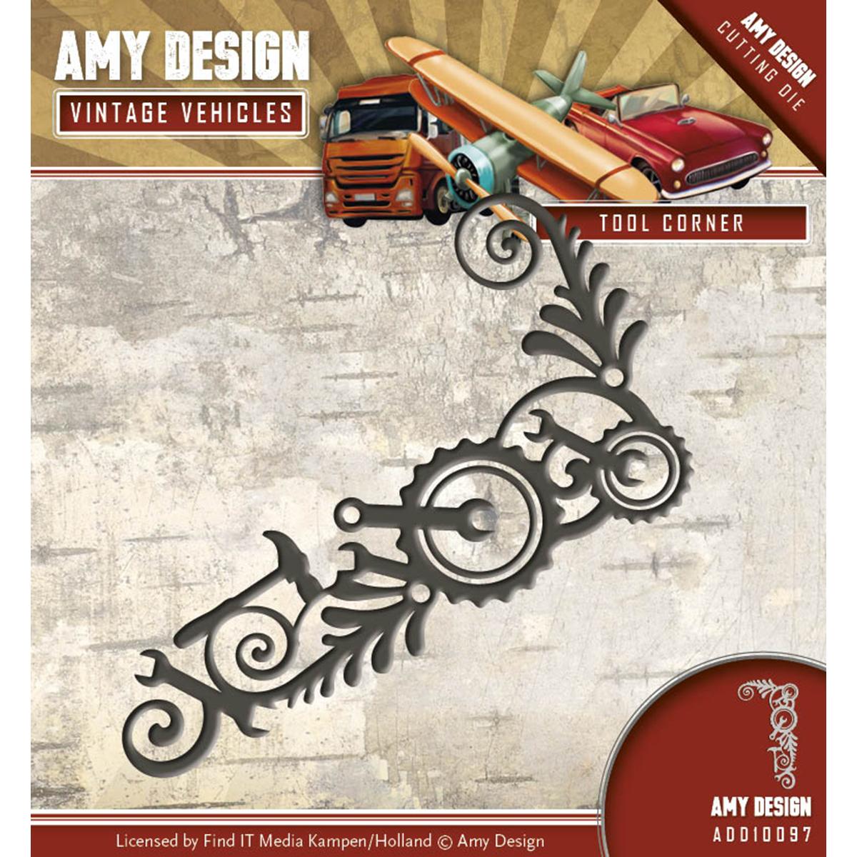Tool Corner - Find It Trading Amy Design Vintage Vehicles Die