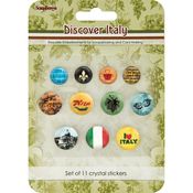 Scrapberry's Discover Italy Crystal Stickers