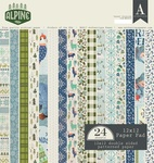 Alpine 12 x 12 Paper Pad - Authentique