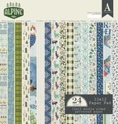 Alpine 12 x 12 Paper Pad - Authentique