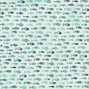 Fish Paper - Summer Splash - KaiserCraft