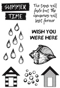Summer Splash Clear Stamps - KaiserCraft