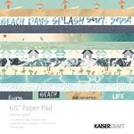 Summer Splash 6 x 6 Paper Pad - KaiserCraft