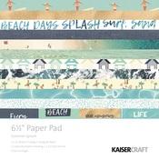 Summer Splash 6.5 x 6.5 Paper Pad - KaiserCraft