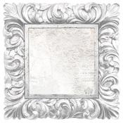 Porcelain Frame Die Cut Paper - Wandering Ivy - KaiserCraft
