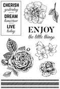 Wandering Ivy Clear Stamps - KaiserCraft