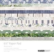 Wandering Ivy 6 x 6 Paper Pad - KaiserCraft
