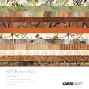 Open Road 6 x 6 Paper Pad - KaiserCraft