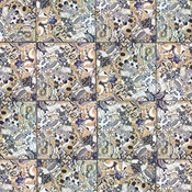 Mosaic Tile Paper - Havana Nights - KaiserCraft