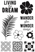 Havana Nights Clear Stamps - KaiserCraft