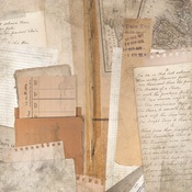 Library Ephemera Paper - Documented - KaiserCraft