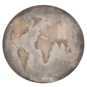 Globe Die Cut Paper - Documented - KaiserCraft