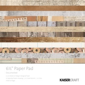 Documented 6 x 6 Paper Pad - KaiserCraft
