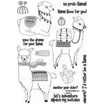Llamas - Pink And Main Stamps