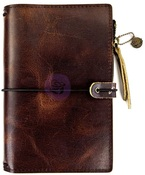 Mocha Brown Prima Travel Journals