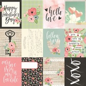 Journaling Cards 3 x 4 Paper - Romance - Simple Stories