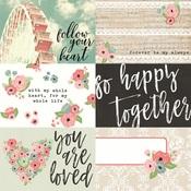 Horizontal Element Card 4 x 6 Paper - Romance - Simple Stories