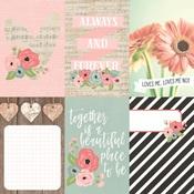Vertical Element Card 4 x 6 Paper - Romance - Simple Stories