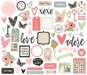 Romance Bits & Pieces - Simple Stories