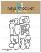 Garden Greetings Icons - Paper Smooches Dies