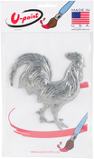 Rooster - U-Paint Metal Embellishments 1/Pkg