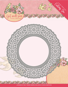 Flower Doily - Find It Trading Yvonne Creations Get Well Soon Die